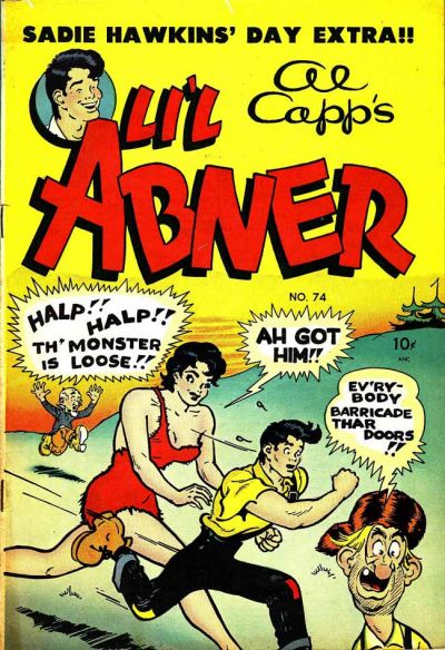 Cover for Al Capp&#39;s Li&#39;l Abner (1949 series) #74