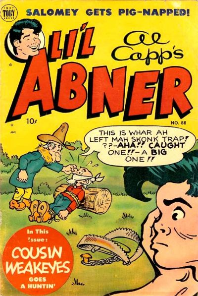 Cover for Al Capp's Li'l Abner (Toby, 1949 series) #88