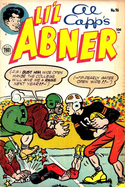 Cover for Al Capp's Li'l Abner (Toby, 1949 series) #96