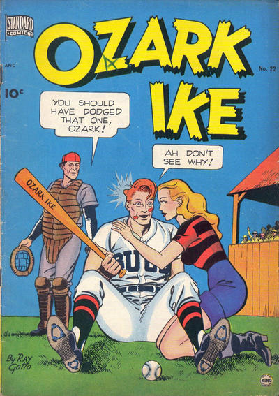 Cover for Ozark Ike (Standard, 1948 series) #22