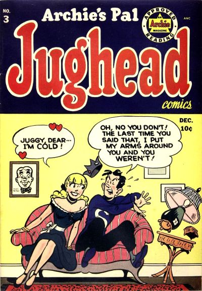 Cover for Archie's Pal Jughead (Archie, 1949 series) #3