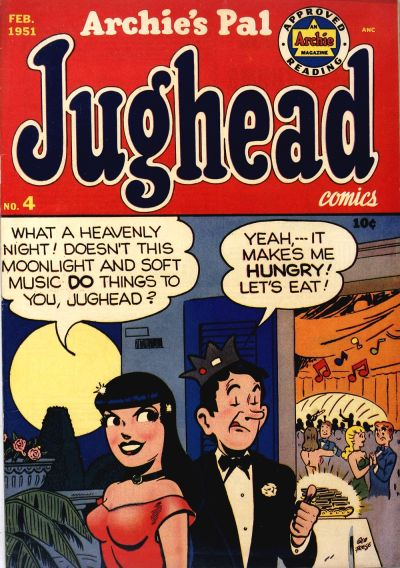 Cover for Archie's Pal Jughead (Archie, 1949 series) #4