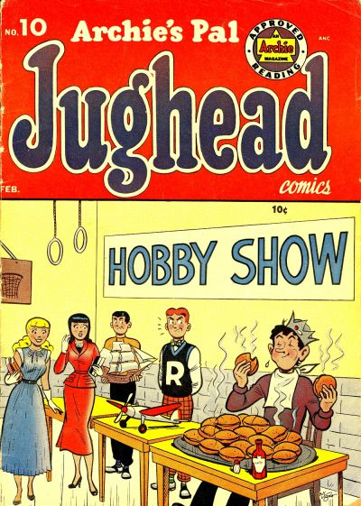Cover for Archie's Pal Jughead (Archie, 1949 series) #10