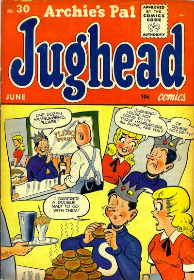 Cover for Archie's Pal Jughead (1949 series) #30