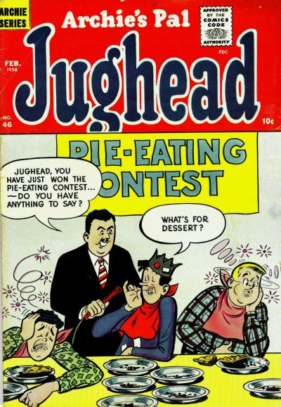 Cover for Archie's Pal Jughead (Archie, 1949 series) #46