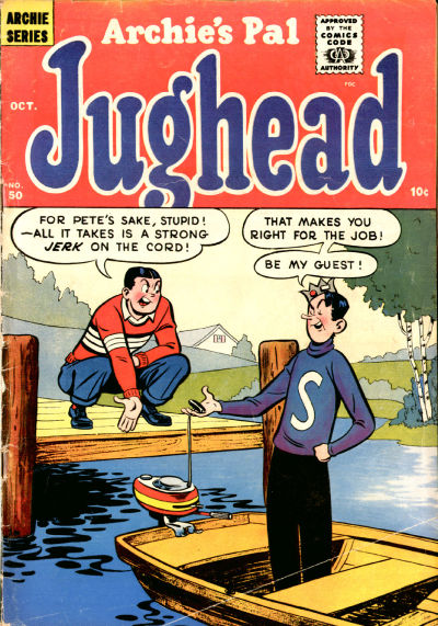 Cover for Archie's Pal Jughead (Archie, 1949 series) #50