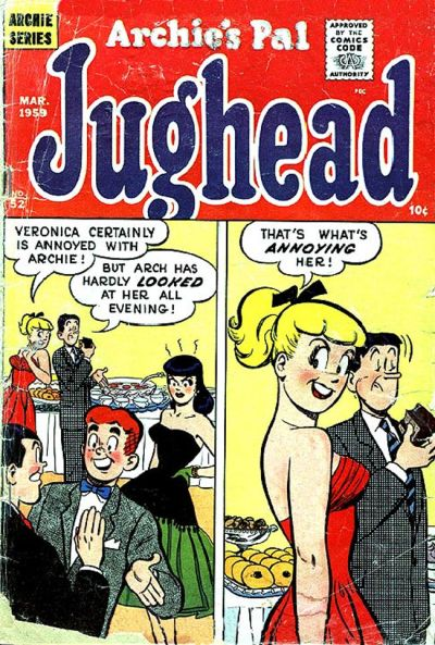 Cover for Archie's Pal Jughead (Archie, 1949 series) #52