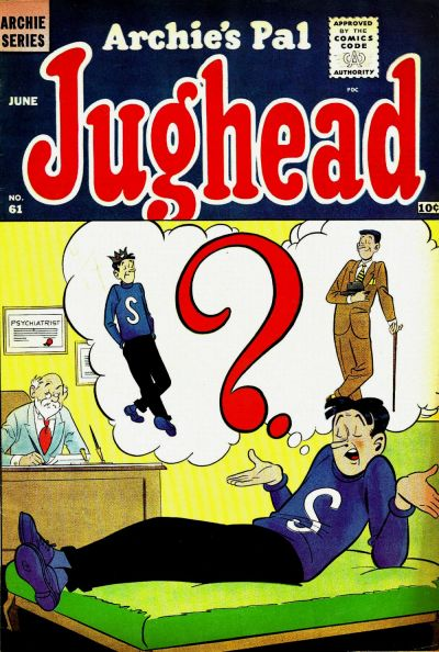 Cover for Archie's Pal Jughead (Archie, 1949 series) #61
