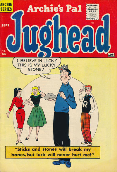 Cover for Archie's Pal Jughead (Archie, 1949 series) #64