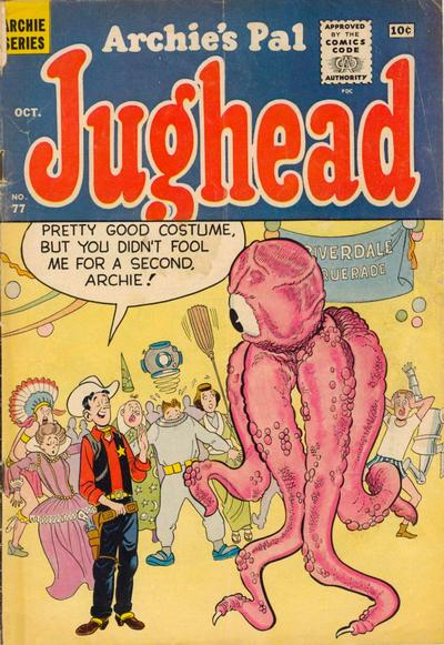Cover for Archie's Pal Jughead (1949 series) #77