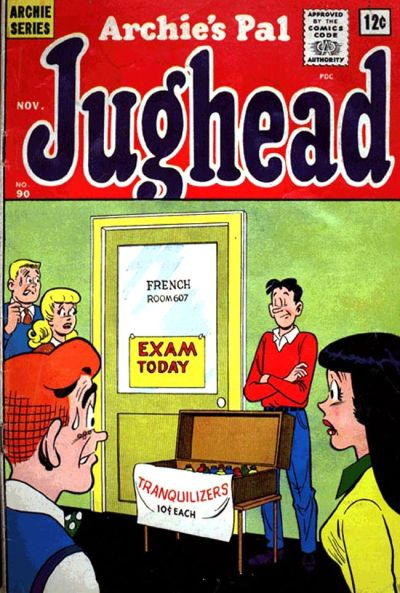 Cover for Archie's Pal Jughead (Archie, 1949 series) #90