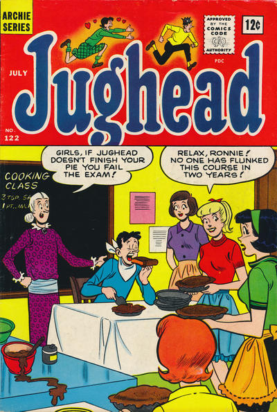 Cover for Archie's Pal Jughead (Archie, 1949 series) #122