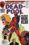 Cover for Deadpool (Marvel, 1997 series) #-1 [Newsstand Edition]
