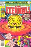 Cover Thumbnail for The Eternals (1976 series) #12 [30 cent cover price]