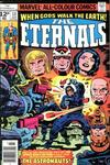 Cover for The Eternals (Marvel, 1976 series) #13 [British Price Variant]