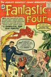 Cover for Fantastic Four (Marvel, 1961 series) #6