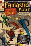 Cover for Fantastic Four (Marvel, 1961 series) #20