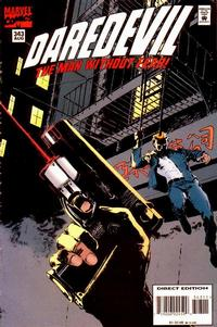 Cover Thumbnail for Daredevil (Marvel, 1964 series) #343 [Direct Edition]
