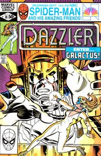 Cover Thumbnail for Dazzler (Marvel, 1981 series) #10 [Direct Edition]