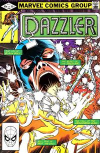 Cover Thumbnail for Dazzler (Marvel, 1981 series) #19 [Direct Edition]