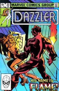 Cover Thumbnail for Dazzler (Marvel, 1981 series) #23 [Direct Edition]