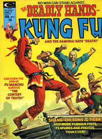Cover Thumbnail for The Deadly Hands of Kung Fu (Marvel, 1974 series) #9