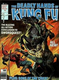 Cover Thumbnail for The Deadly Hands of Kung Fu (Marvel, 1974 series) #30