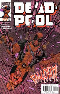 Cover Thumbnail for Deadpool (Marvel, 1997 series) #14 [Direct Edition]