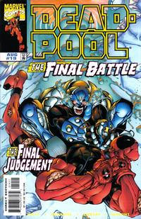 Cover Thumbnail for Deadpool (Marvel, 1997 series) #19 [Direct Edition]