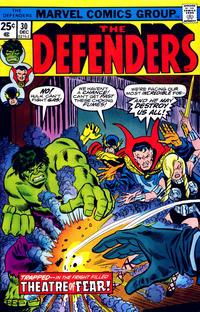 Cover Thumbnail for The Defenders (Marvel, 1972 series) #30 [Regular Edition]