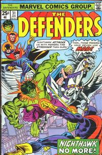 Cover Thumbnail for The Defenders (Marvel, 1972 series) #31 [Regular Edition]