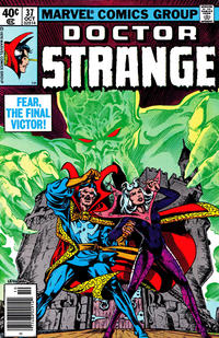 Cover Thumbnail for Doctor Strange (Marvel, 1974 series) #37 [Newsstand Edition]
