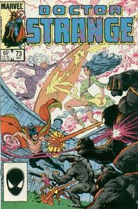 Cover Thumbnail for Doctor Strange (Marvel, 1974 series) #73 [Direct Edition]