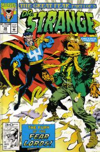 Cover Thumbnail for Doctor Strange, Sorcerer Supreme (Marvel, 1988 series) #38 [Direct Edition]