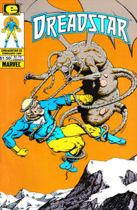 Cover for Dreadstar (Marvel, 1982 series) #23