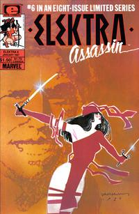 Cover Thumbnail for Elektra: Assassin (Marvel, 1986 series) #6