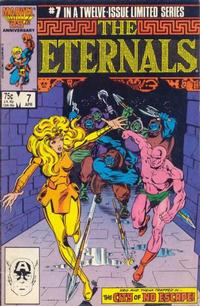 Cover Thumbnail for Eternals (Marvel, 1985 series) #7 [Direct Edition]