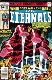 Cover Thumbnail for The Eternals (Marvel, 1976 series) #10 [Regular Edition]