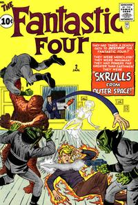 Cover Thumbnail for Fantastic Four (Marvel, 1961 series) #2