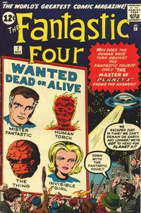 Cover Thumbnail for Fantastic Four (Marvel, 1961 series) #7