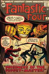 Cover for Fantastic Four (Marvel, 1961 series) #8