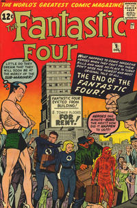 Cover Thumbnail for Fantastic Four (Marvel, 1961 series) #9