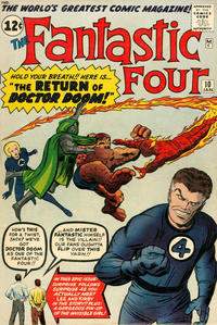 Cover Thumbnail for Fantastic Four (Marvel, 1961 series) #10 [Regular Edition]