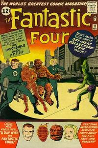 Cover for Fantastic Four (Marvel, 1961 series) #11