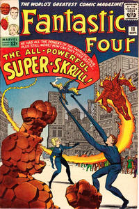Cover Thumbnail for Fantastic Four (Marvel, 1961 series) #18 [Regular Edition]