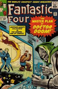 Cover Thumbnail for Fantastic Four (Marvel, 1961 series) #23 [Regular Edition]