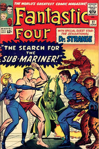 Cover Thumbnail for Fantastic Four (Marvel, 1961 series) #27 [Regular Edition]