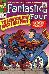 Cover Thumbnail for Fantastic Four (Marvel, 1961 series) #42 [Regular Edition]