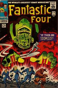 Cover Thumbnail for Fantastic Four (Marvel, 1961 series) #49 [Regular Edition]