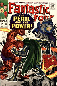 Cover Thumbnail for Fantastic Four (Marvel, 1961 series) #60 [Regular Edition]